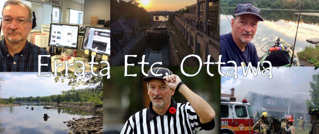 Header image for Errata Etc. Ottawa Blog