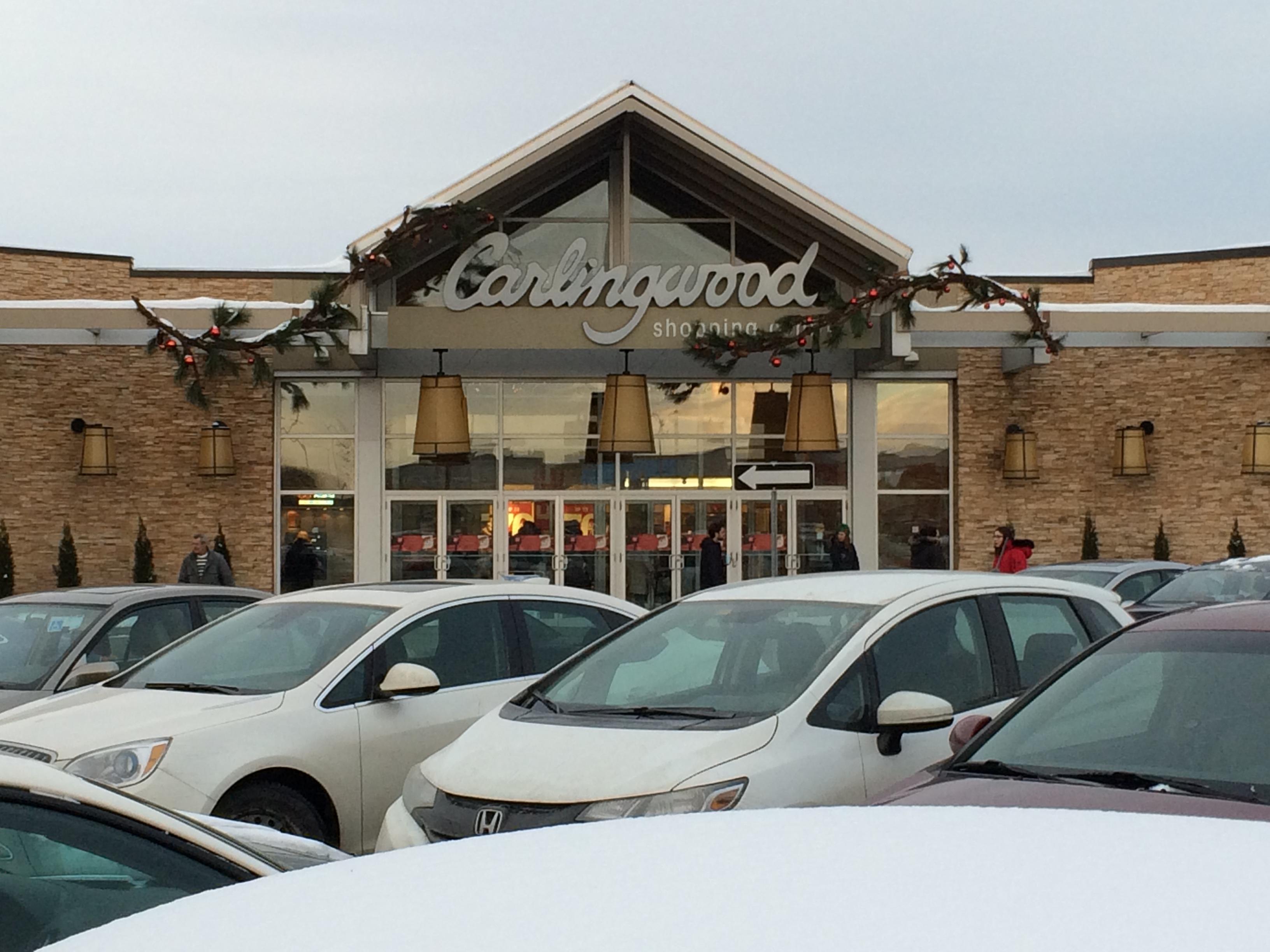 ManShopping Carlingwood Shopping Centre in west Ottawa