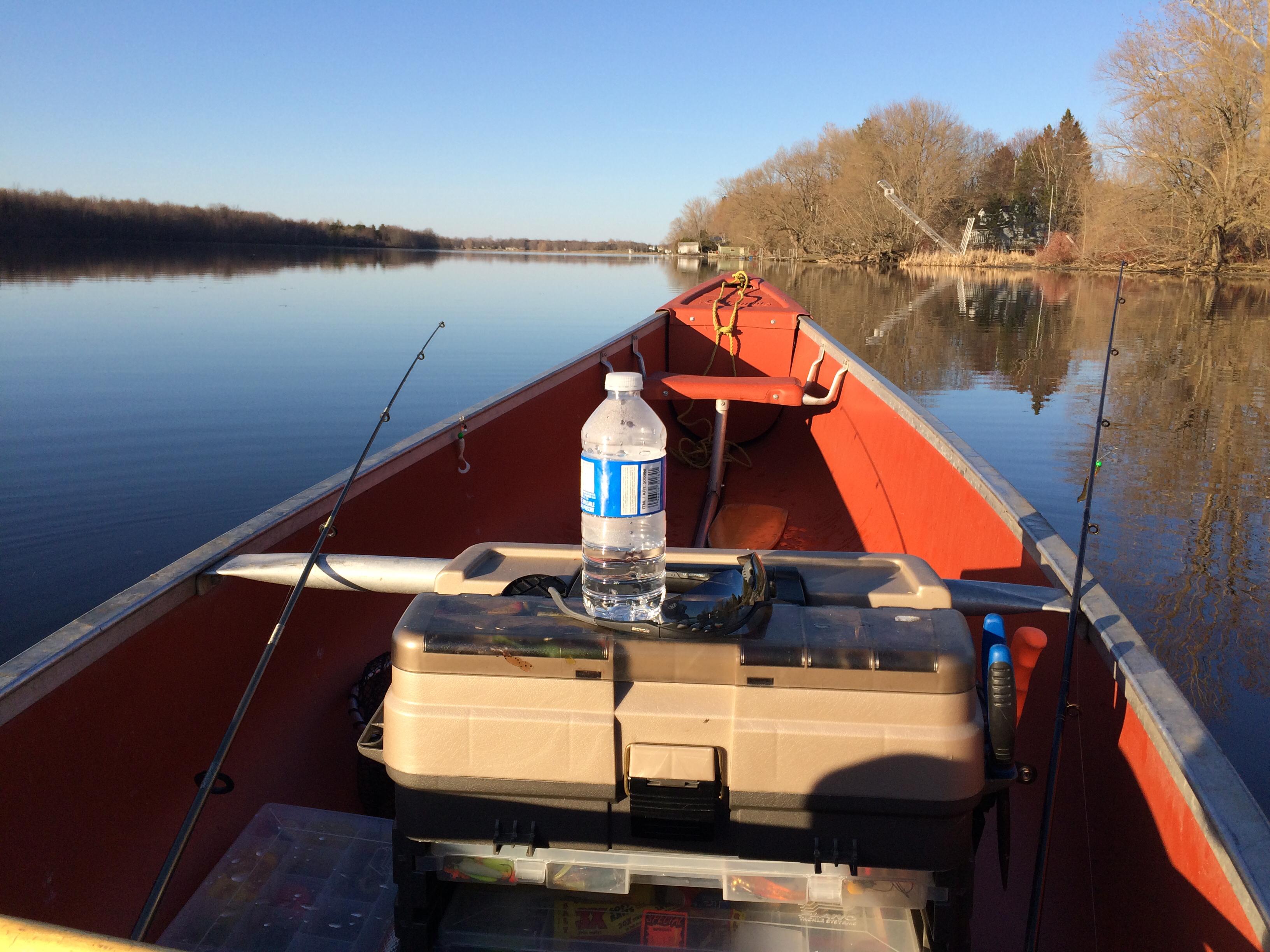 16-foot Coleman canoe