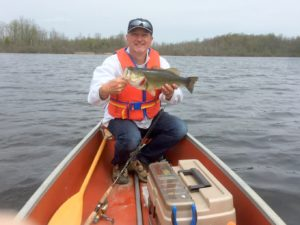 Rideau River Largemouth - Coleman canoe