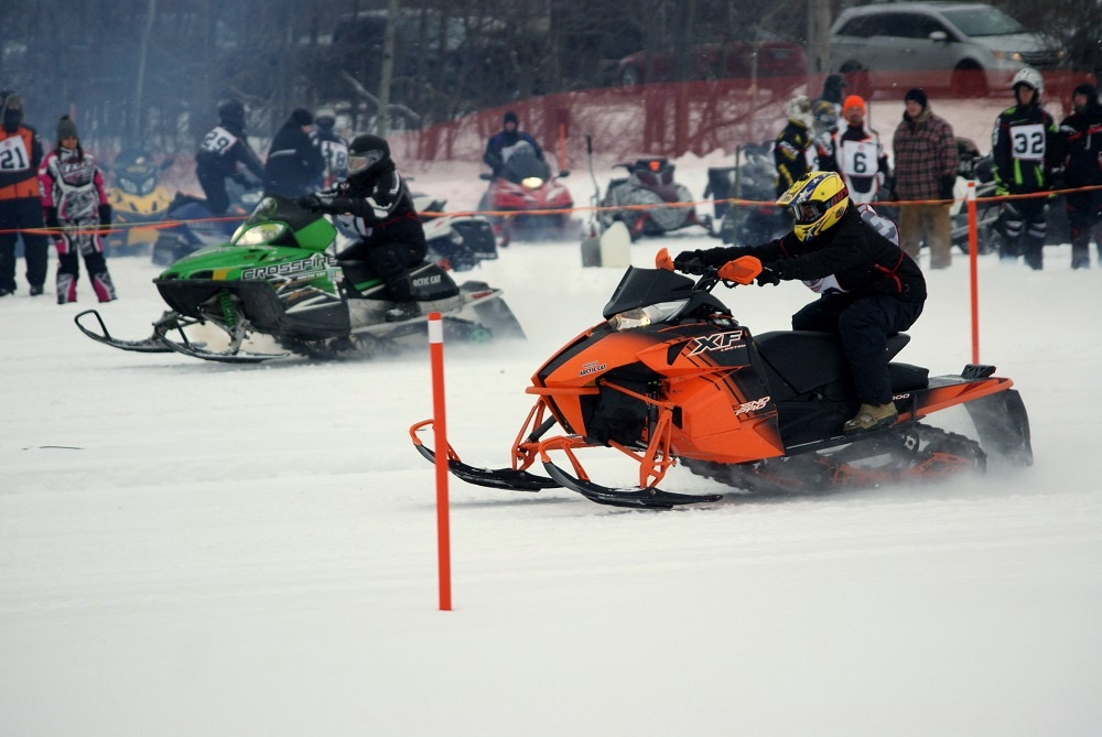 Osgoode Carleton Snowmobile Trail Club drag racing gallery