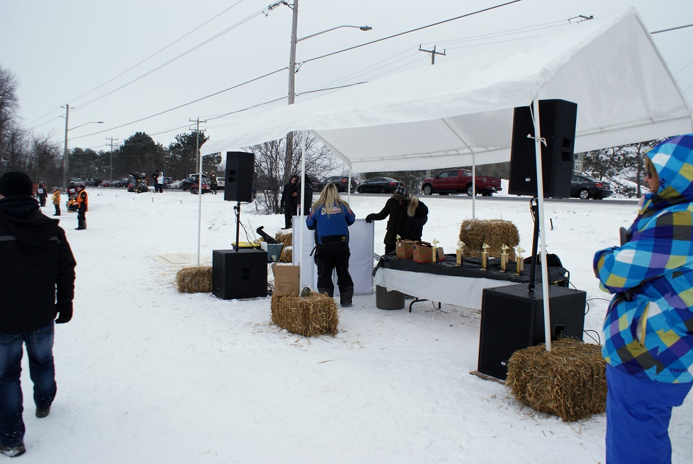 Osgoode Carleton Snowmobile Trail Club Drag Races