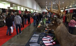 Seconds after walking into the main entrance at the Canadian National Sportsmen's Show in Toronto., you're immersed in all things outdoors.