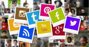 Communications platforms ... social media logos